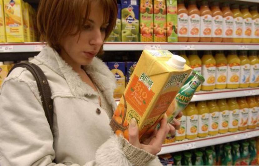 Quels sont les composants chimiques des produits alimentaires?